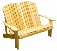 Adirondack Loveseat��44`` Seat Width - Designed for love birds with room for two to curl up in!