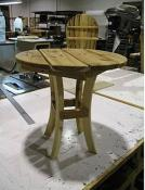 Round End Table -